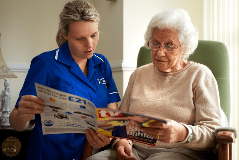Caremark home care companionship
