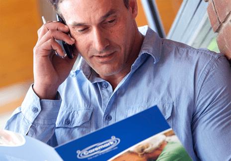 caremark franchise man on phone