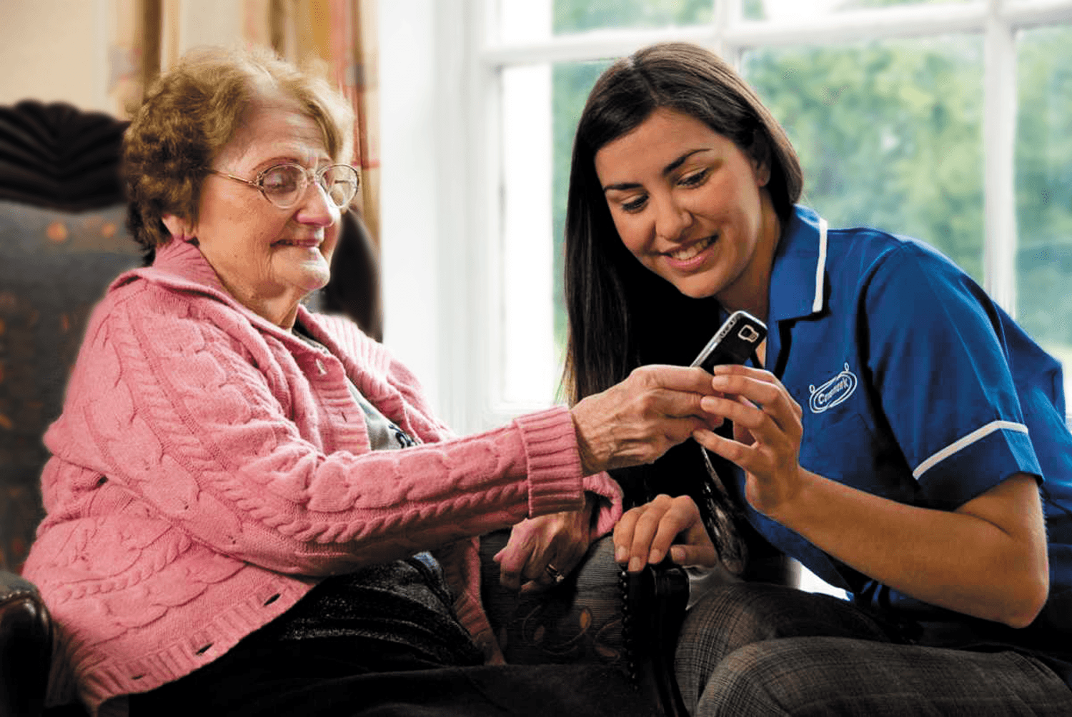 Caremark's home care support