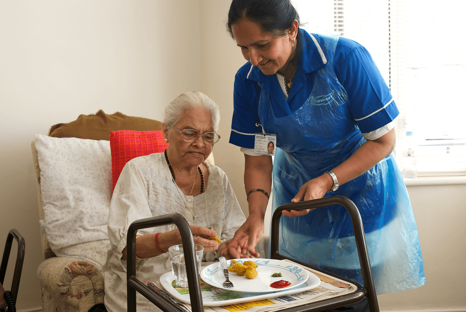 Caremark meal preparation with home care worker