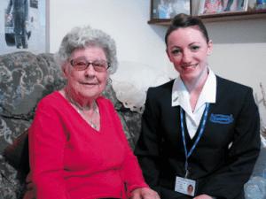 home care assistance job