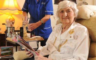 Easing Hospital to Home Transitions for Elderly People