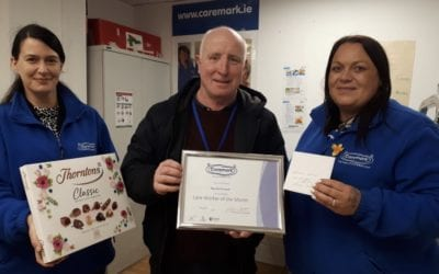 Caremark Dublin North Care Worker of the Month