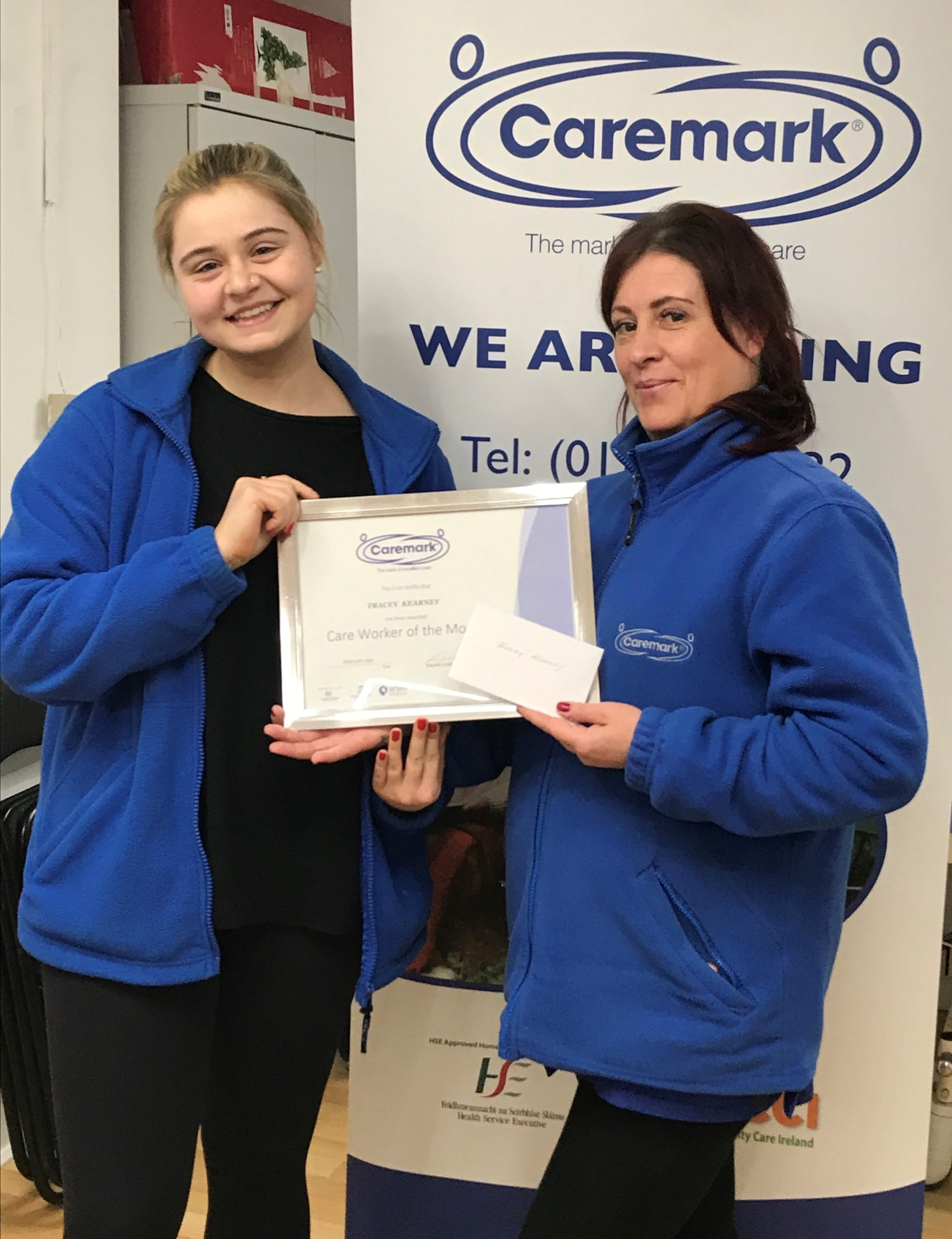 Caremark Dublin North – February Care Worker of the Month