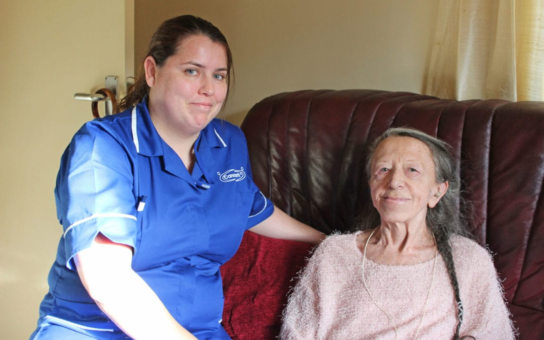 Stay safe and socially isolated with a Caremark care and support worker living in your home during the Pandemic